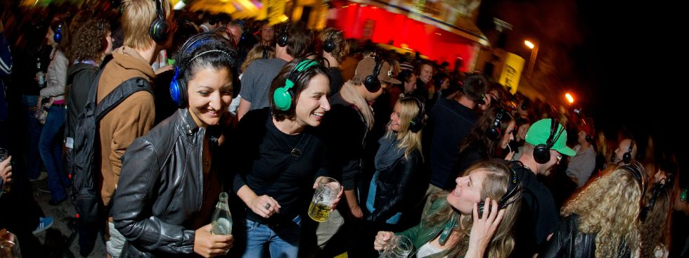Streetlife Festival Silent Disco München, Foto: Ludwig Barth, 2018