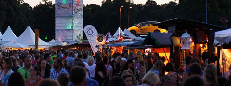 Sinnflut Festival bei Dämmerung, Foto: Sinnflut Festival