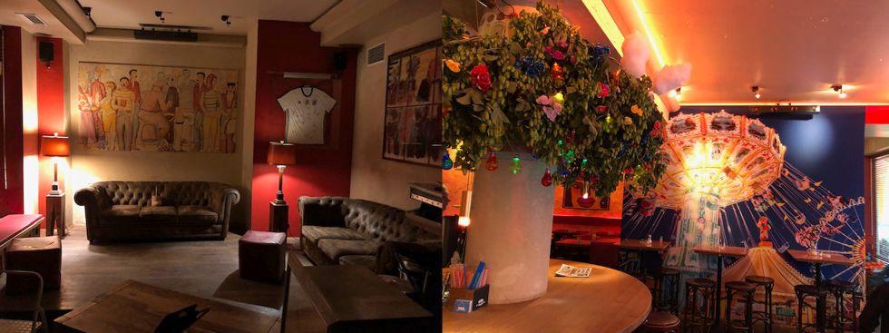 So sieht es im Café Nil aus.