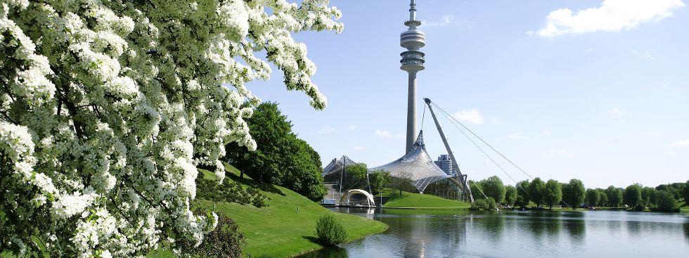 Frühling im Olympiapark, Foto: Olympiapark München