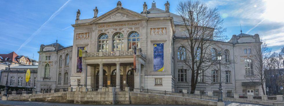 Prinzregententheater im Winter, Foto: muenchen.de/Michael Hofmann