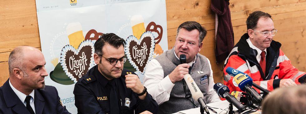 Pressekonferenz Oktoberfest Schlussbericht, Foto: muenchen.de/Katy Spichal