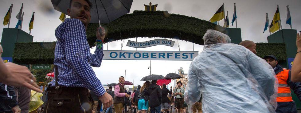 Großer Andrang beim Oktoberfest, Foto: dpa