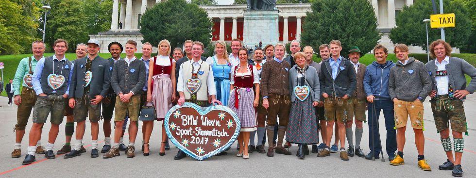 Wiesn Sport-Stammtisch - Gruppenbild, Foto: BMW Group