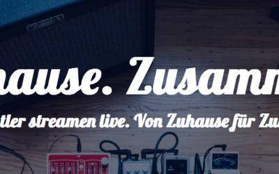 Das Zuhause Festival bringt Künstler*innen dank Livestream in Euer Wohnzimmer