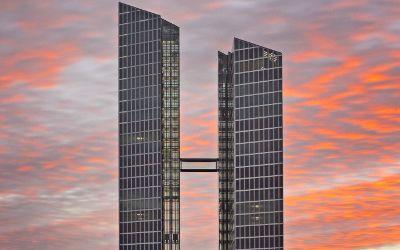 Die Highlight Towers in Schwabing.