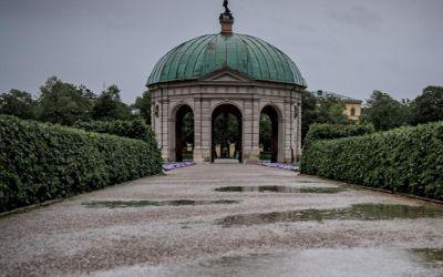Der Hofgarten im Herbst