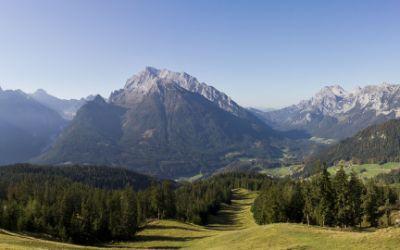 Ausblick Berchtesgadener Land