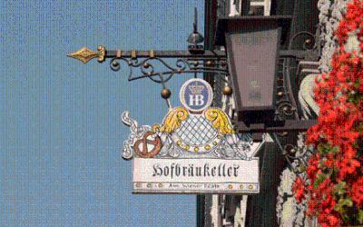 Hofbräukeller Schild