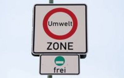 Umweltzone - grüne Plakette