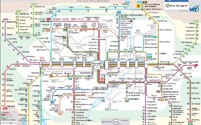 S-Bahn-Netzplan München