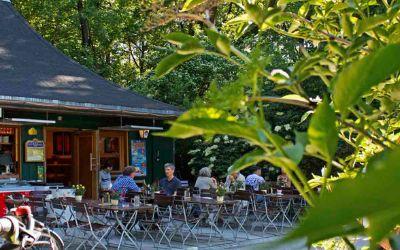 München-Schwabing: Das Milchhäusl im Englischen Garten