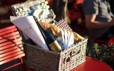 Picknickkorb-Verleih vom Cafe Luitpold