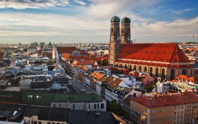 München-Panorama mit Frauenkirche