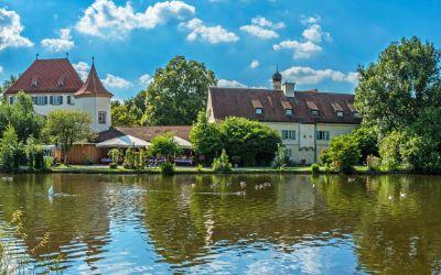 Schloss Blutenburg im Sommer