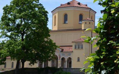Nordfriedhof im Münchner Stadtteil Schwabing-Freimann