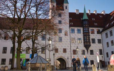 Alter Hof in der Innenstadt München