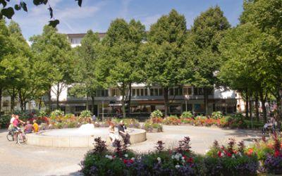 Hohenzollernplatz in München Schwabing