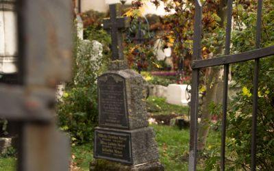 Eingang Friedhof Bogenhausen