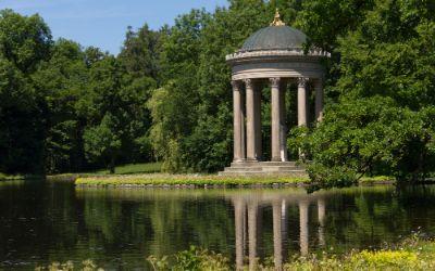 Apollotempel am Badenburger See