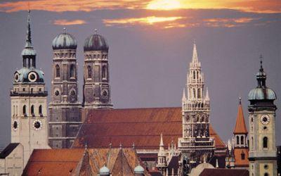 Abendpanorama München