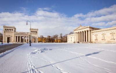 Winter in München - Sehenswürdigkeiten