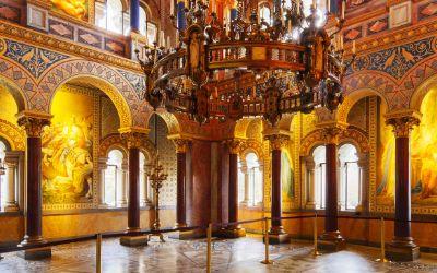 Der Thronsaal von Schloss Neuschwanstein