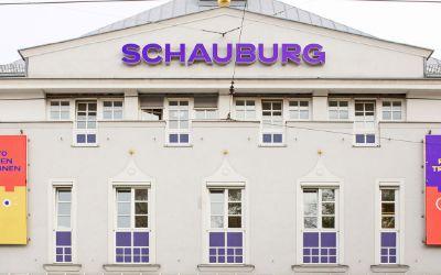 Die Fassade der Schauburg