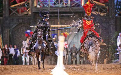 Ritter in der Kaltenberg Arena