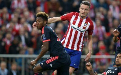 FC Bayern gegen Atletico Madrid