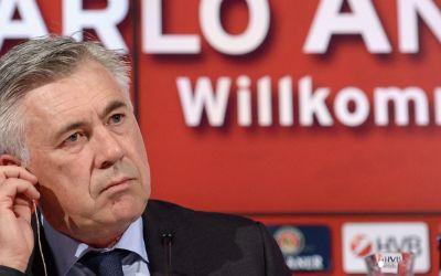 Carlo Ancelotti bei seiner Auftakt-Pressekonferenz in München