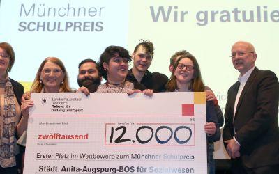 Impressionen zur Verleihung des Münchner Schulpreises 2016.