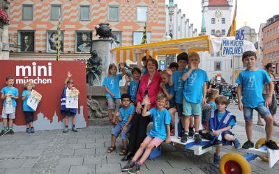Pressekonferenz Mini-München Spielstadt