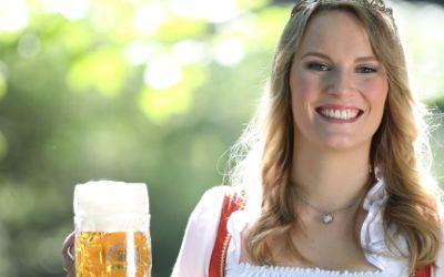 Die bayerische Bierkönigin Marlene Speck.