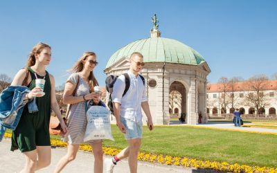 Münchner Sehenswürdigkeiten - Hofgarten