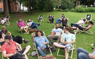 Impressionen vom neuen Projekt im Nußbaumpark
