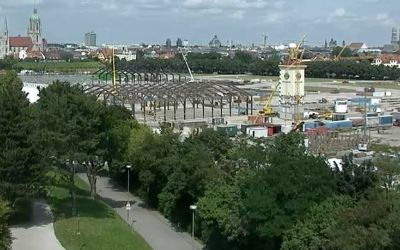 Screenshot der Wiesn-Webcam