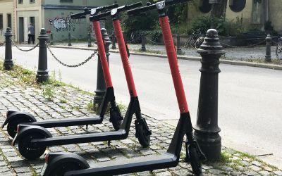 E-Scooter von voi in München