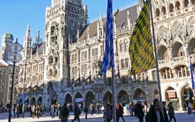 Marienplatz mit Neuem Rathaus