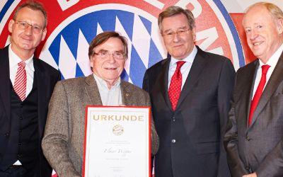 Elmar Wepper ist 50 Jahre lang Bayern Mitglied