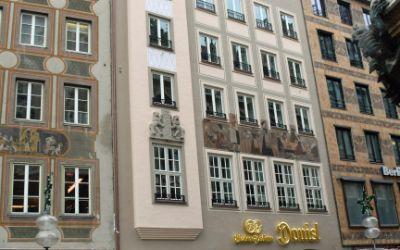 Die renovierte Gaststätte Donisl am Marienplatz