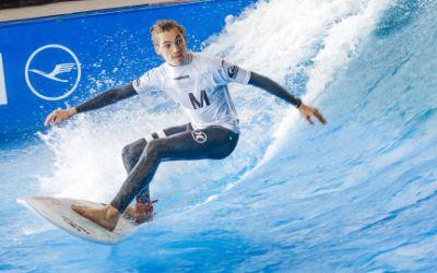 Impressionen von der EM im Stationary Wave Riding.