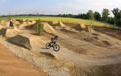 Dirtpark in der Goteboldstraße