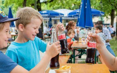 Biergarten mit Kindern