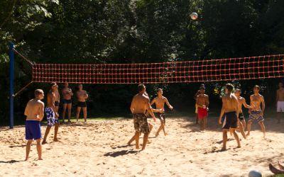 Volleyball am Feldmochinger See