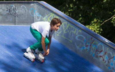 Skateanlage am Karsfelder See
