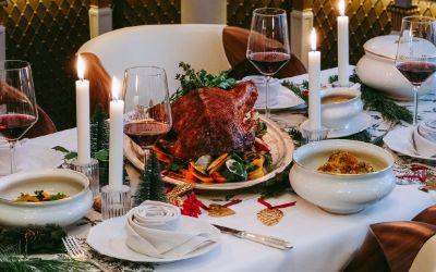 Adventsmenü aus dem Restaurant Schwarzreiter