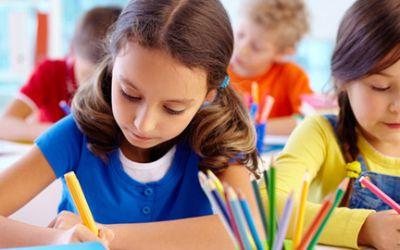 Schülerinnen schreiben