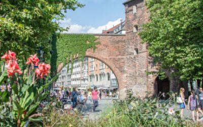 Sendlinger Tor im Sommer