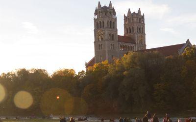Herbst-Stimmung an der Isar